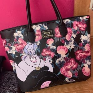 Disney Villains Loungefly Tote Purse